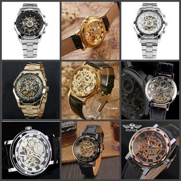Часы скелетон купить воронеж черно белые картинки наручных часов