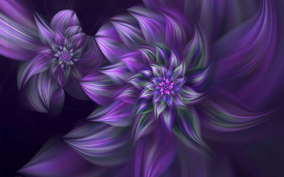 картинки с фиолетовыми рисунками относится