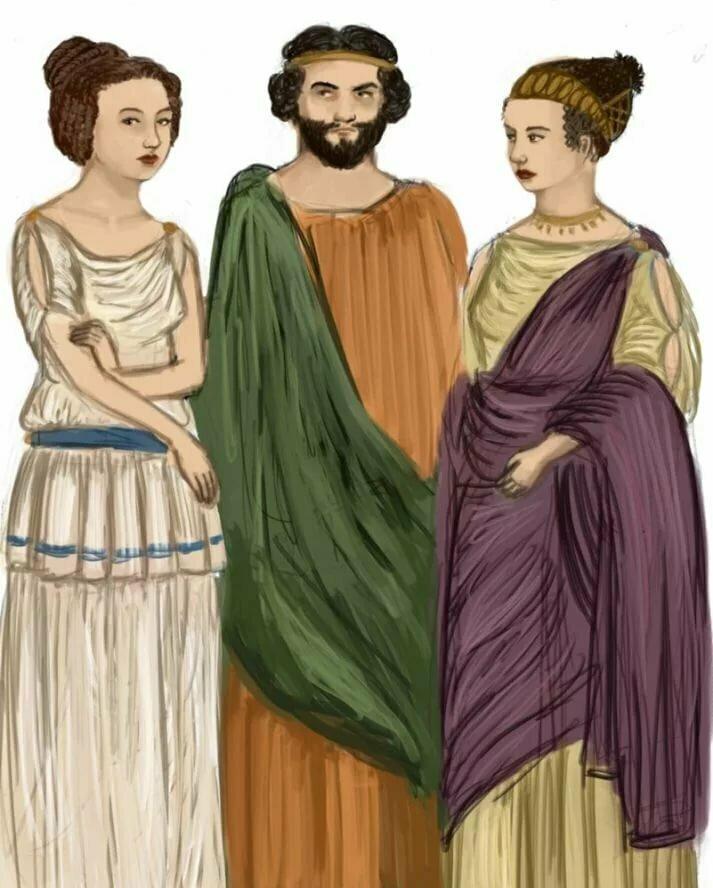 называемая картинка древний грек нам