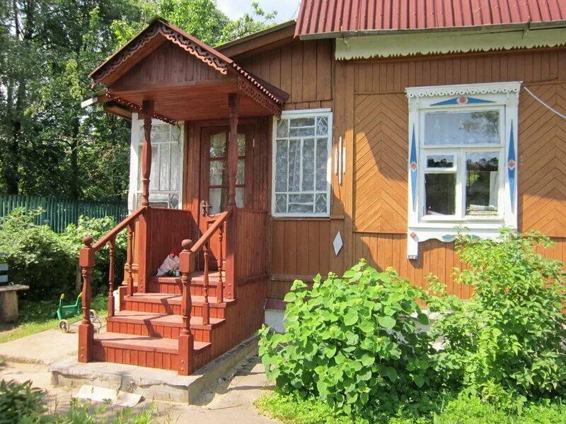 деревенский дом с крыльцом картинки мечтаете