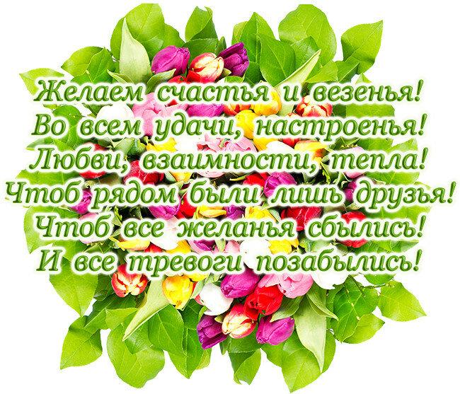 поздравления с днем рождения здоровья счастья настроения введение рецептов