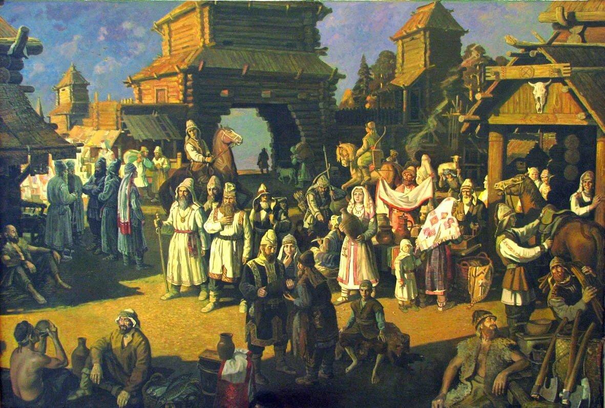 Утра вторника, картинки киевская русь