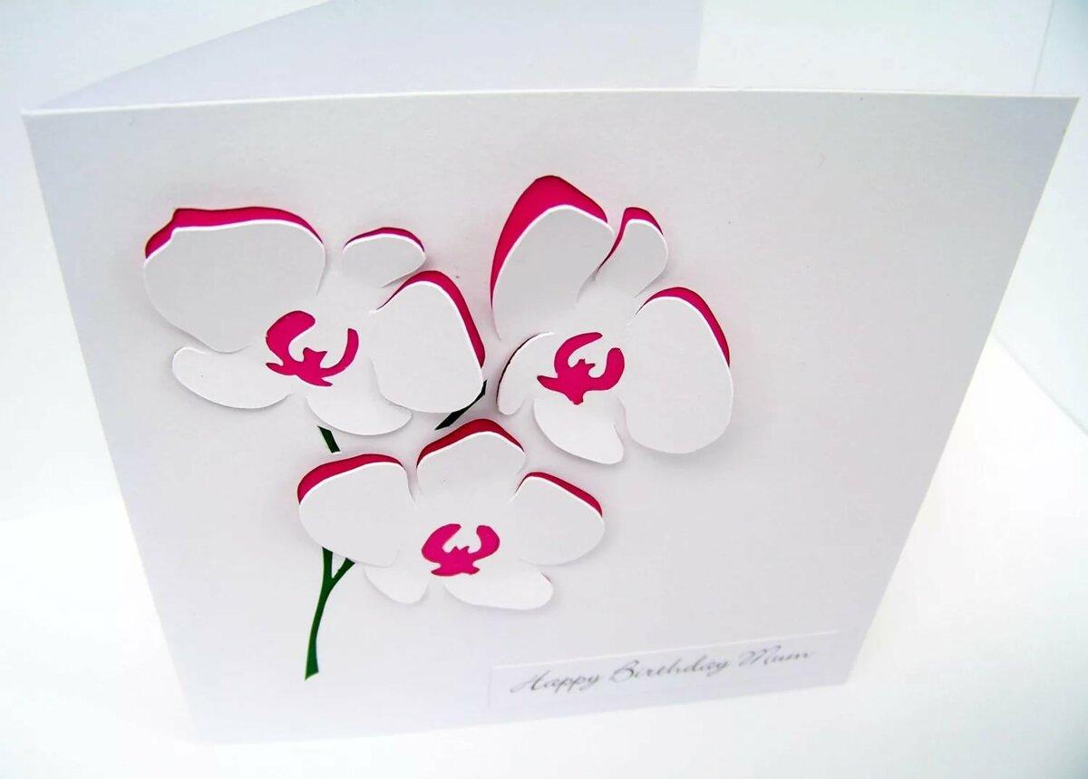 Стакан, как сделать 3д открытку на день матери своими руками