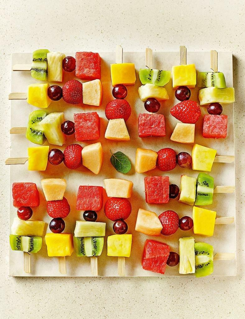 знаете разновидность канапе из фруктов фото том