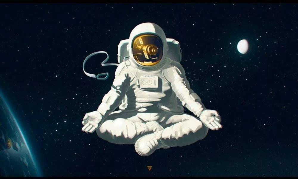 Днем рождения, картинки прикольных космонавтов