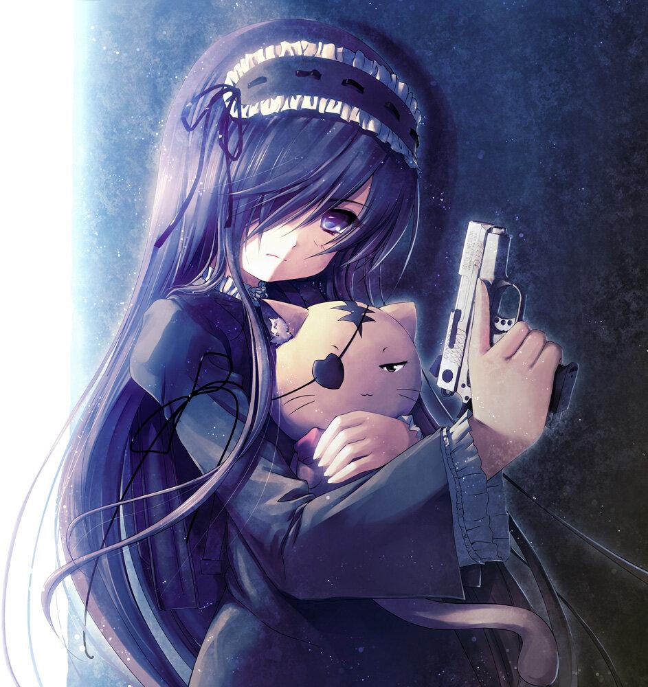 Аниме картинки на аву для девушек убийц