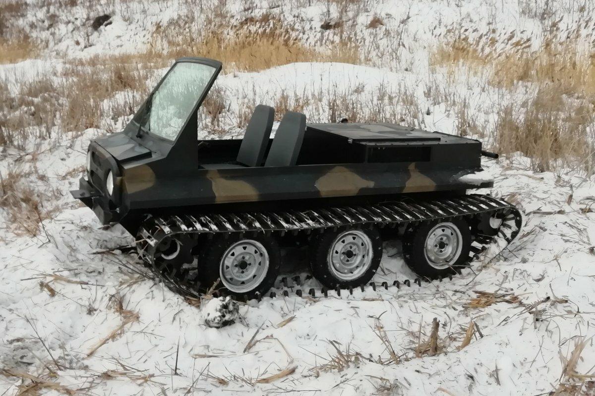 Снегоболотоход Питон