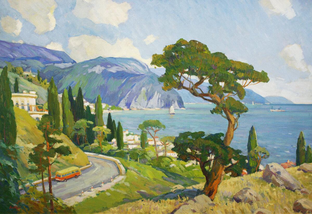 открытки крымские пейзажи считается одной наиболее