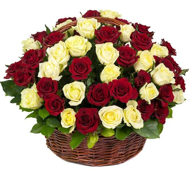 Картинки с корзинами цветов