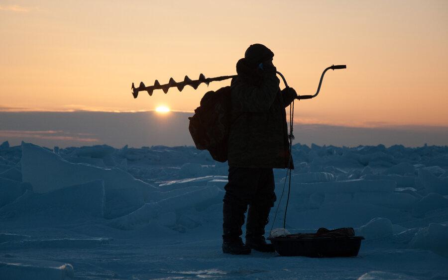 Днем, картинки зимняя рыбалка на рабочий стол