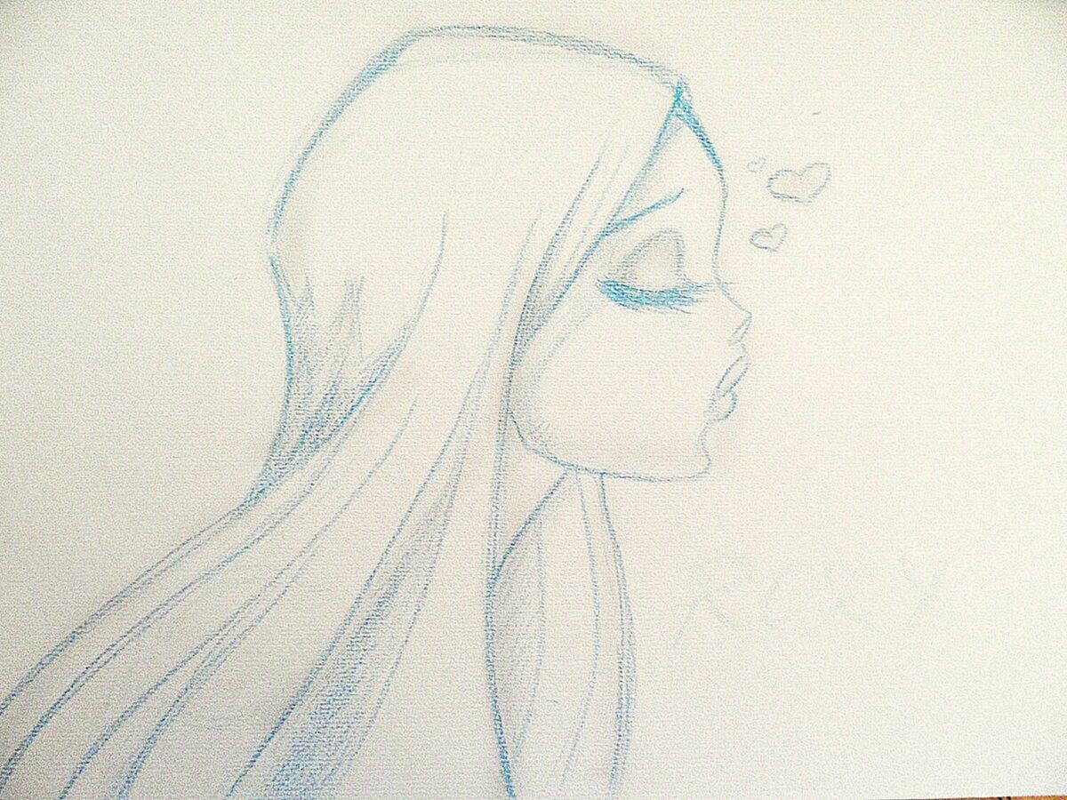 Красивые картинки нарисовать карандашом для девочек легко