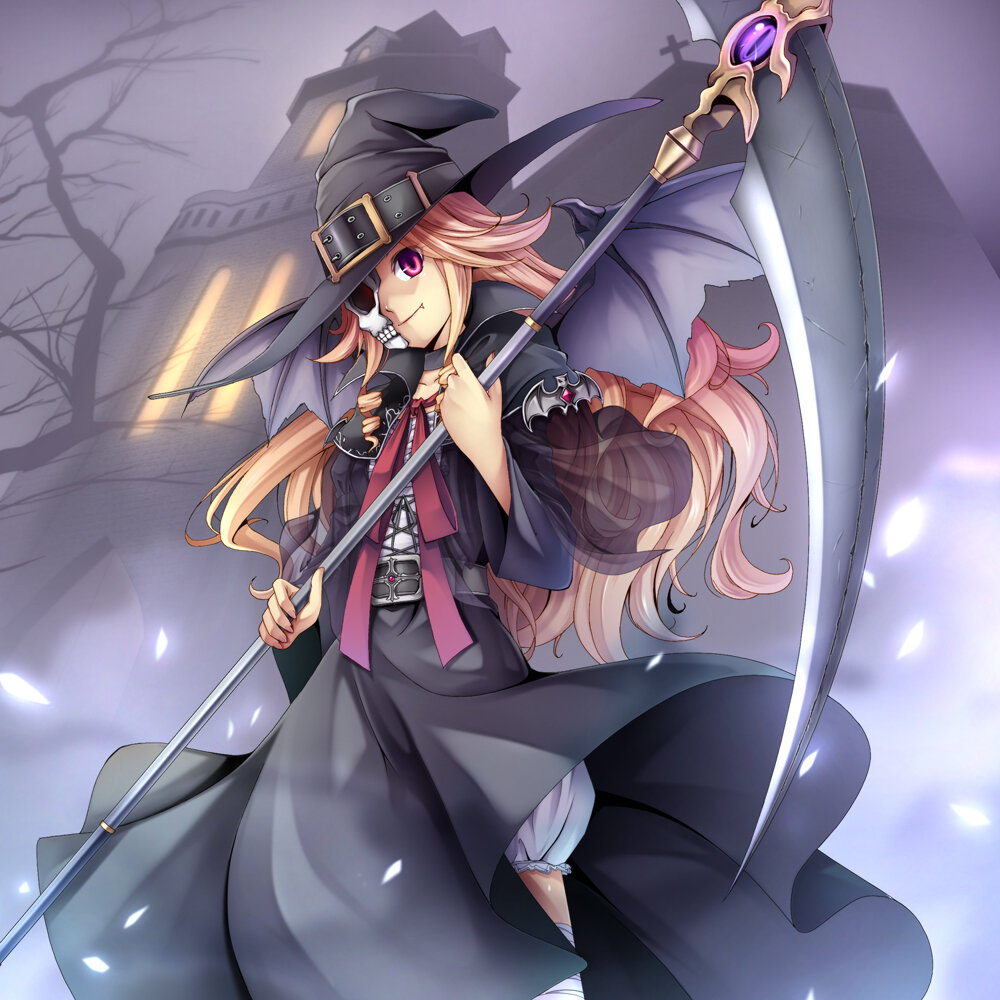 Аниме картинки ведьмочки