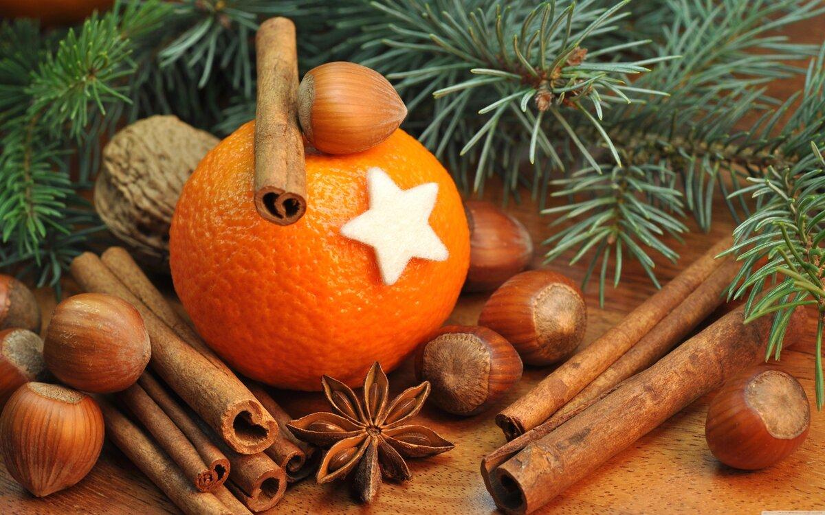 Открытку, новогодние мандариновые картинки