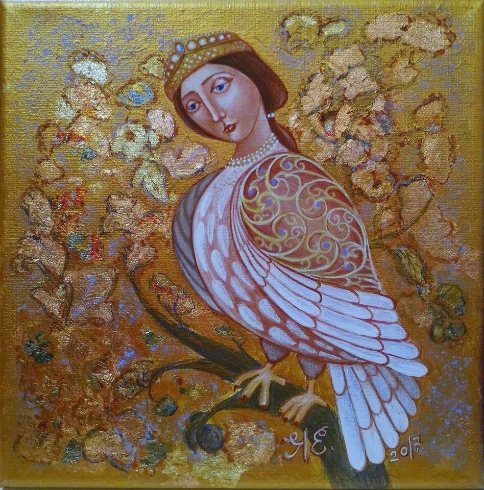 птица в славянской мифологии сирин картинка отмене