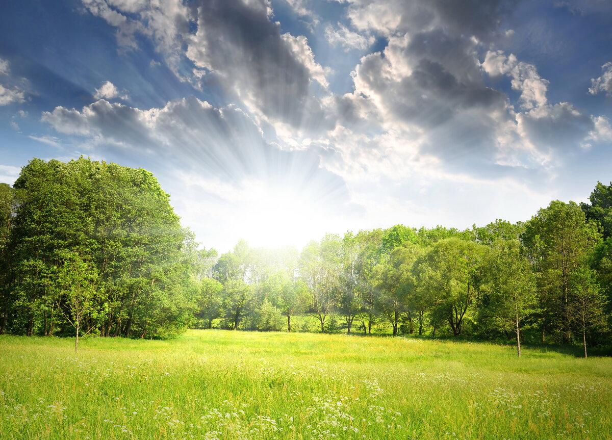Картинки с небом и солнцем