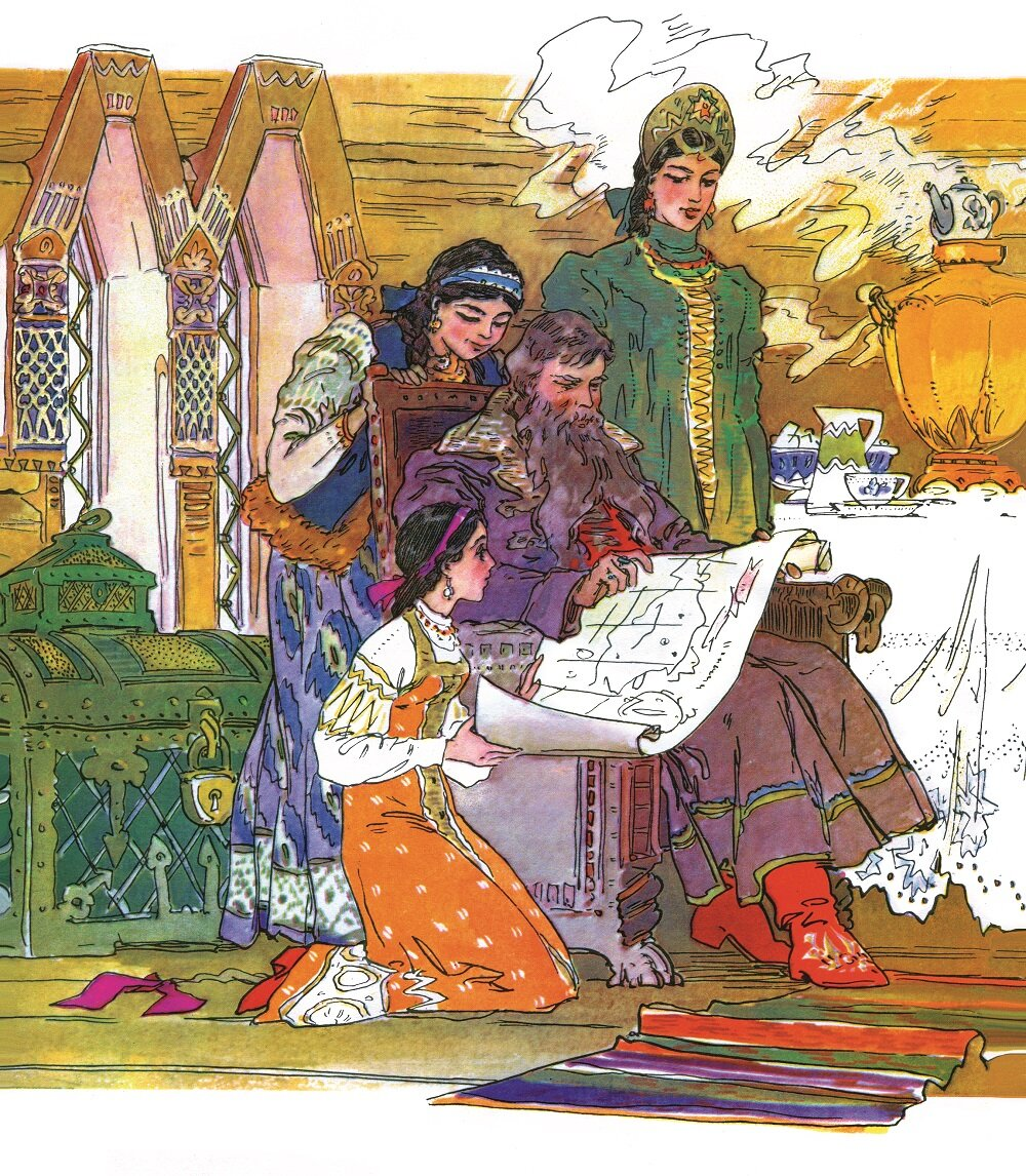 Картинки к сказкам аксаково