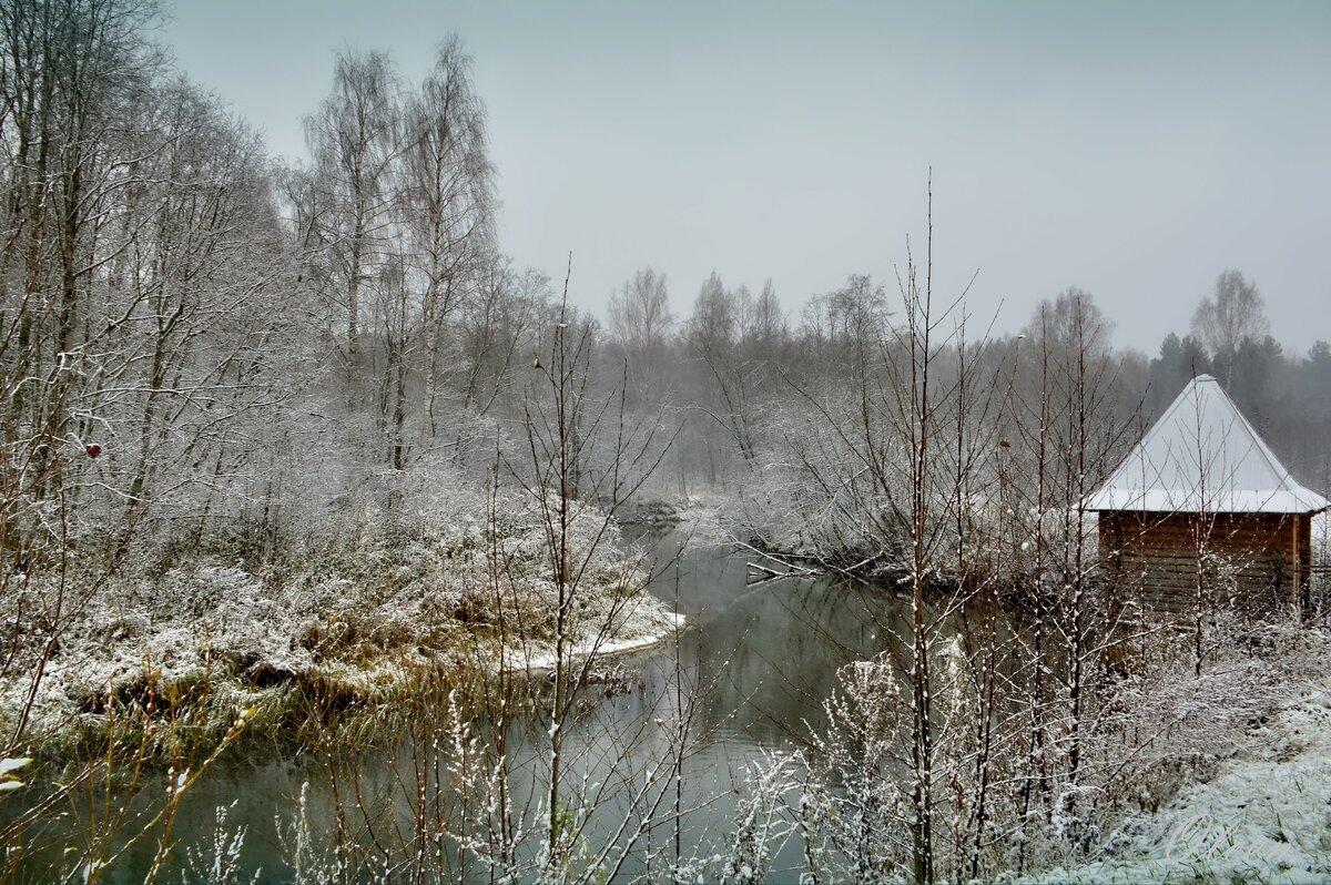 На зимней Сольбе