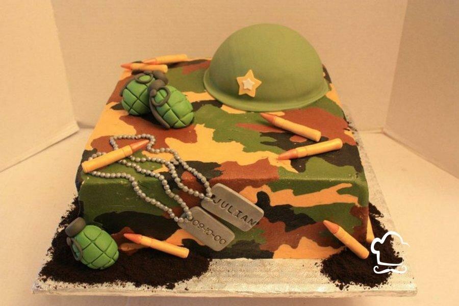 торты для военных фото кухня