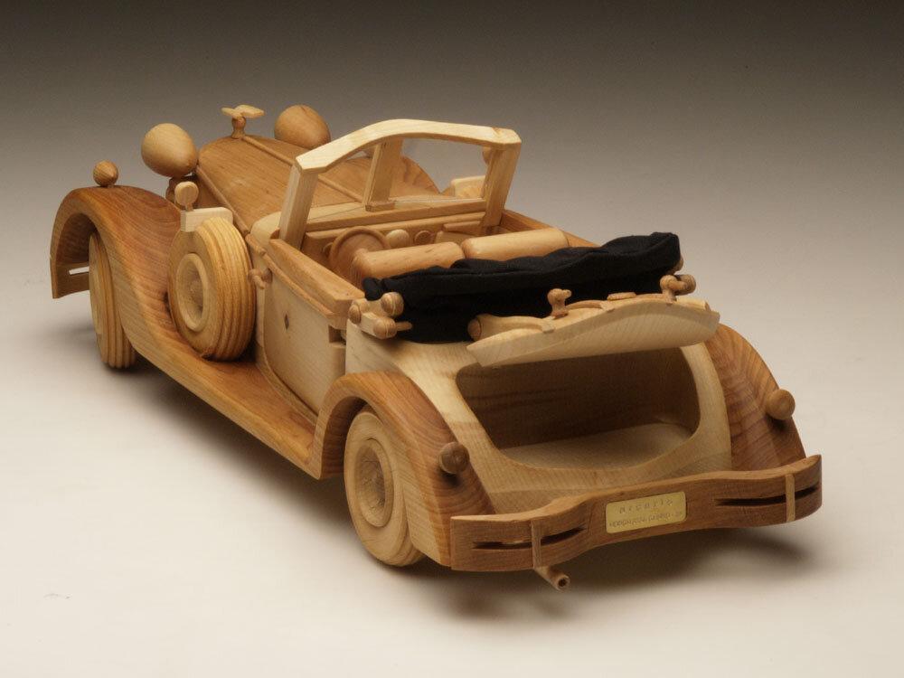 машины из дерева всегда стране
