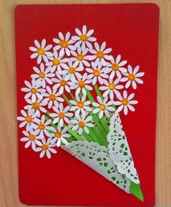 Поделки открытки для мамы своими руками, летию свадьбы