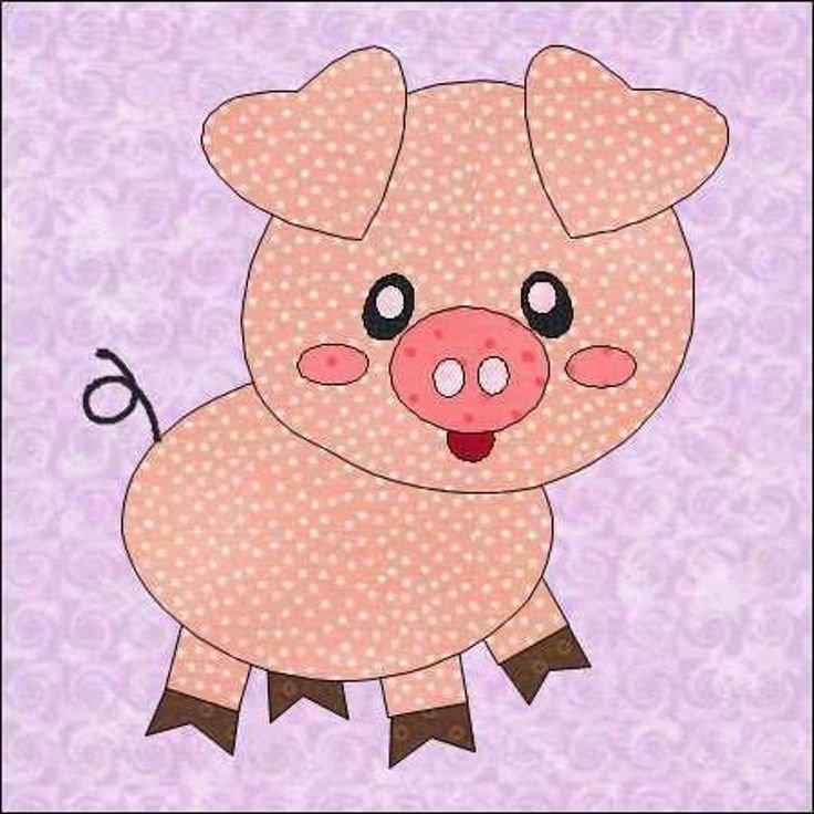 свинка открытка из сердечек всего
