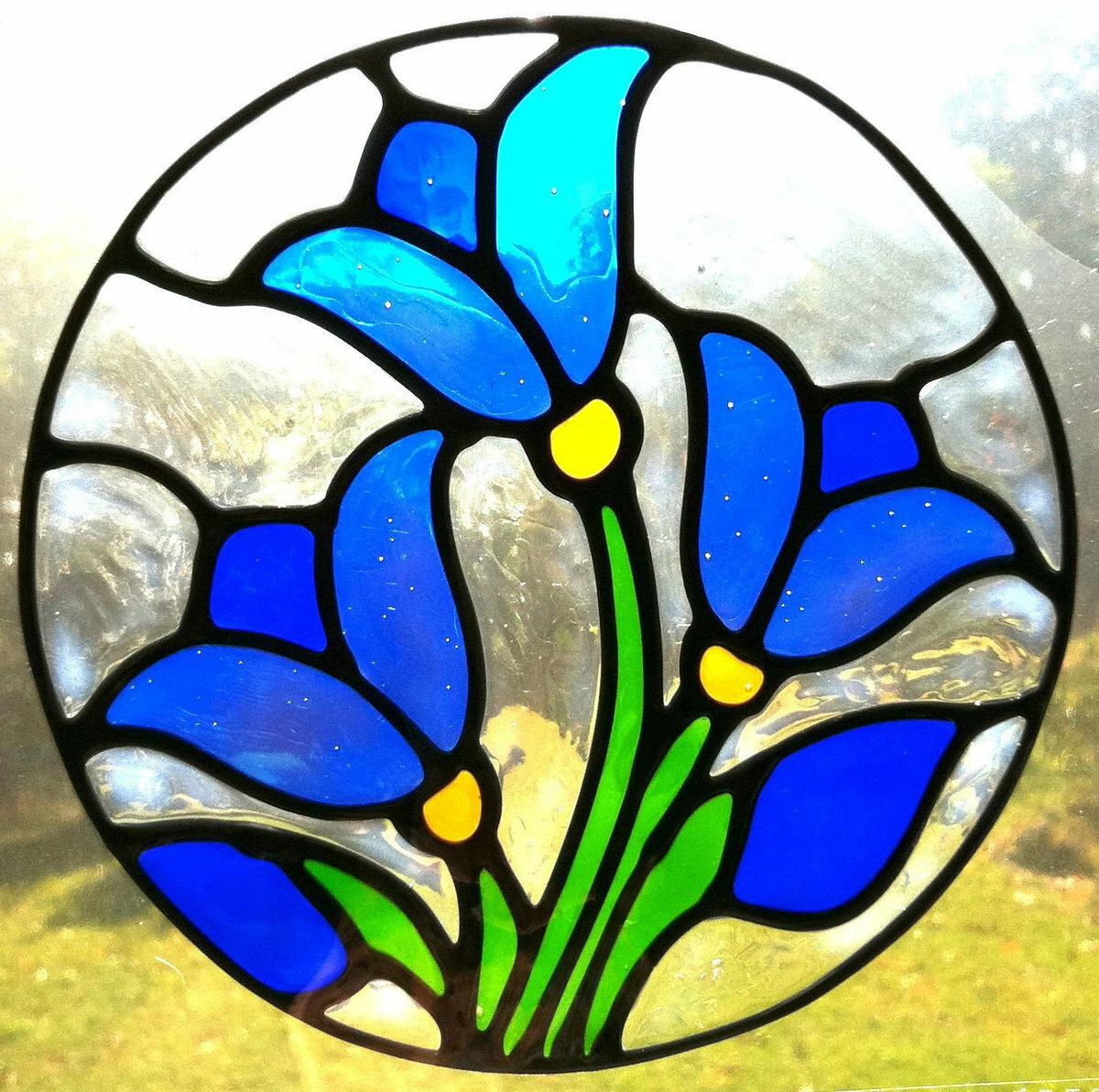 Картинки рисунок на стекле