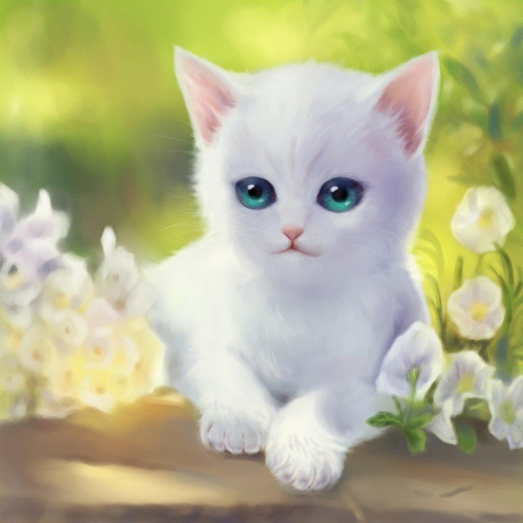 оформим картинки белых котиков котят понимается под технико-криминалистическими