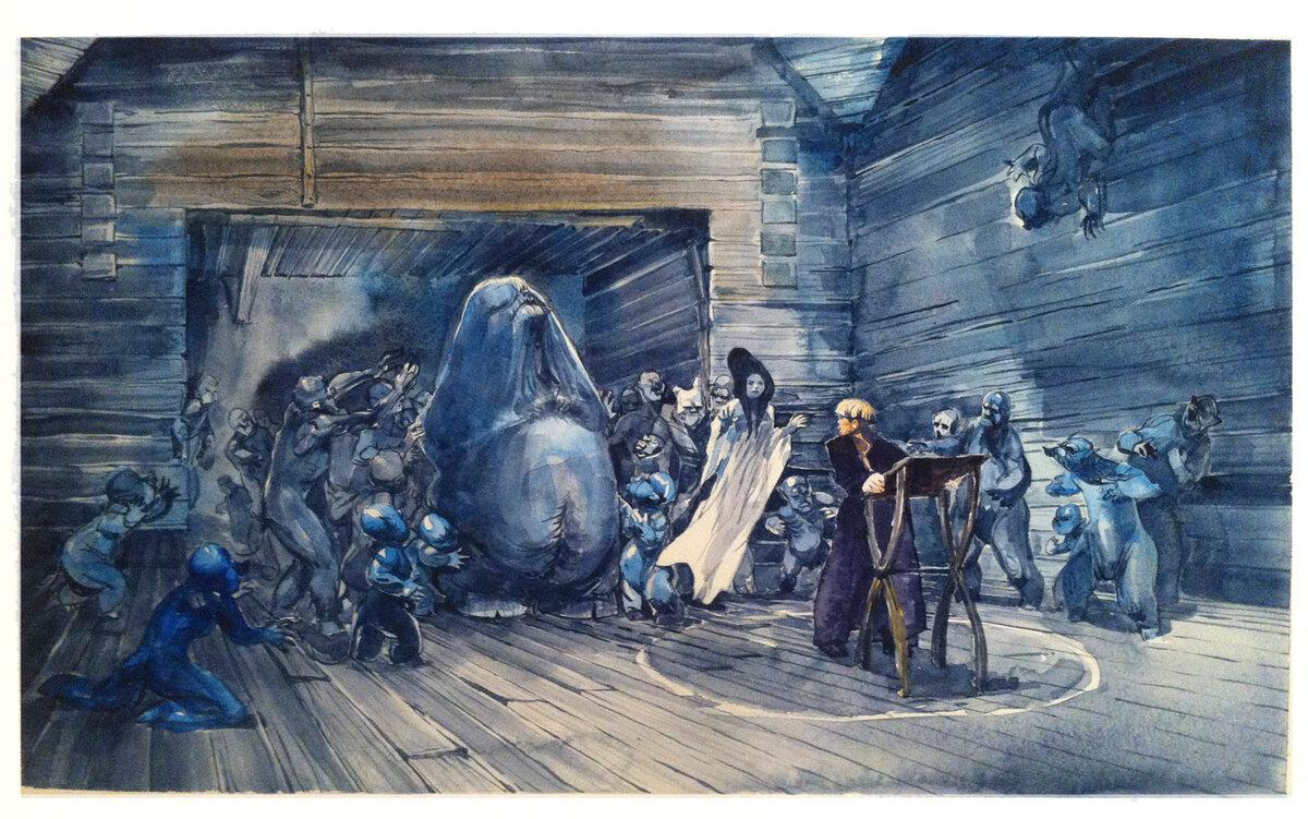 Иллюстрации к произведениям гоголя