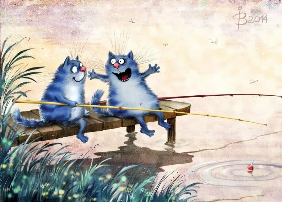 Сестре день, смешные коты открытки