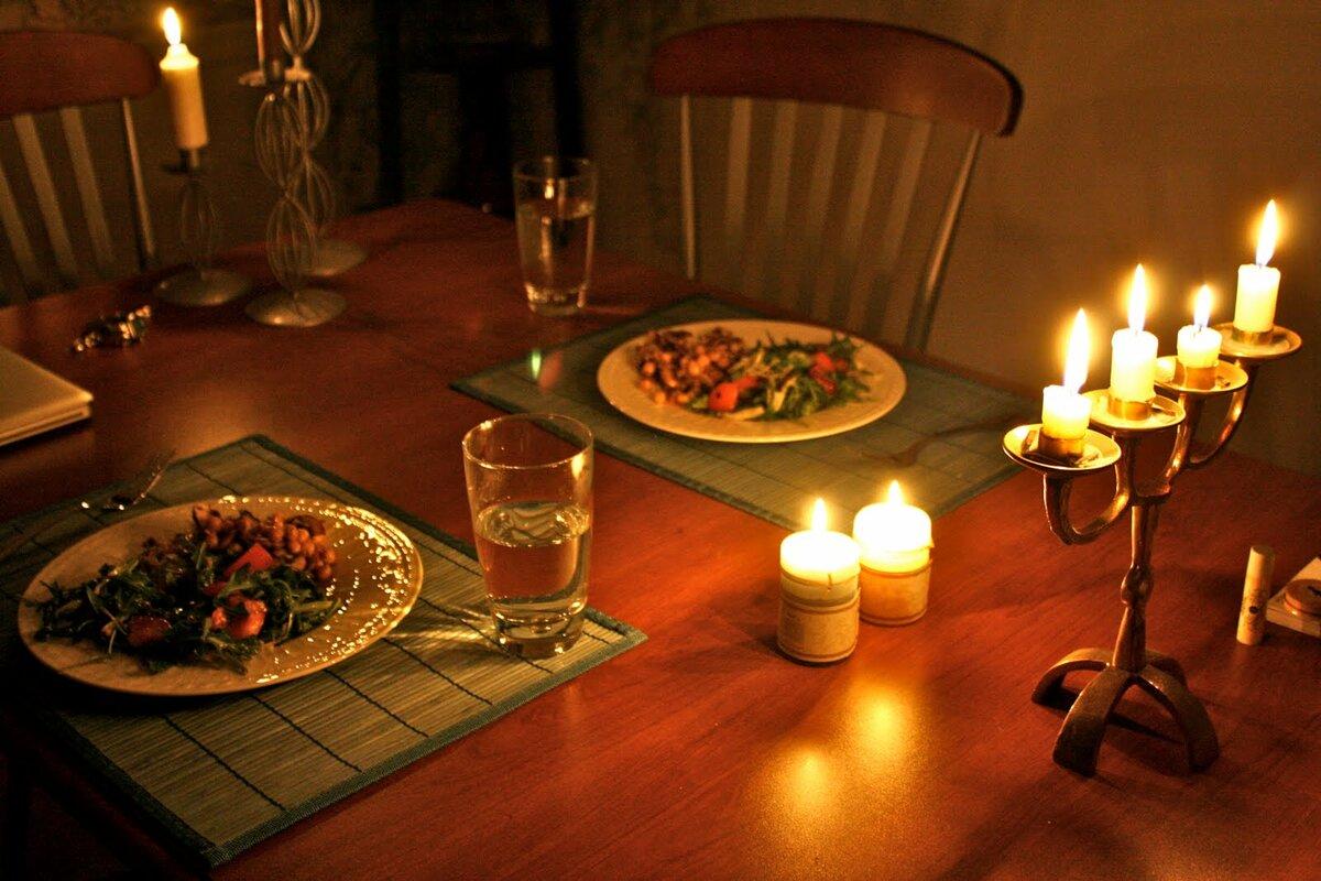 Картинки романтический вечер на двоих дома