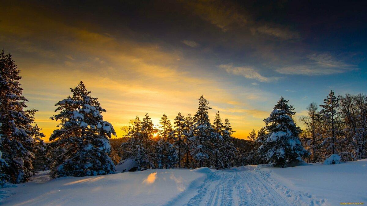 Картинки фото для рабочего стола зима