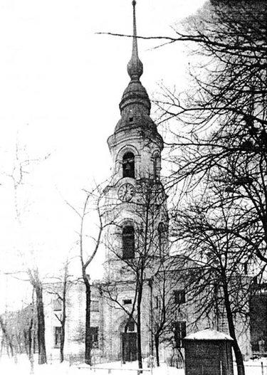 разрушенная церковь колпино