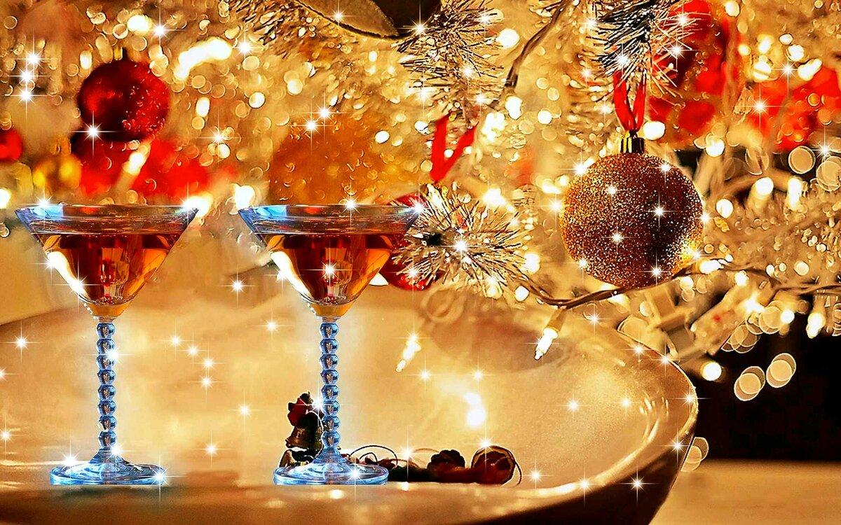 Открытки, картинки новогоднего праздничного настроения