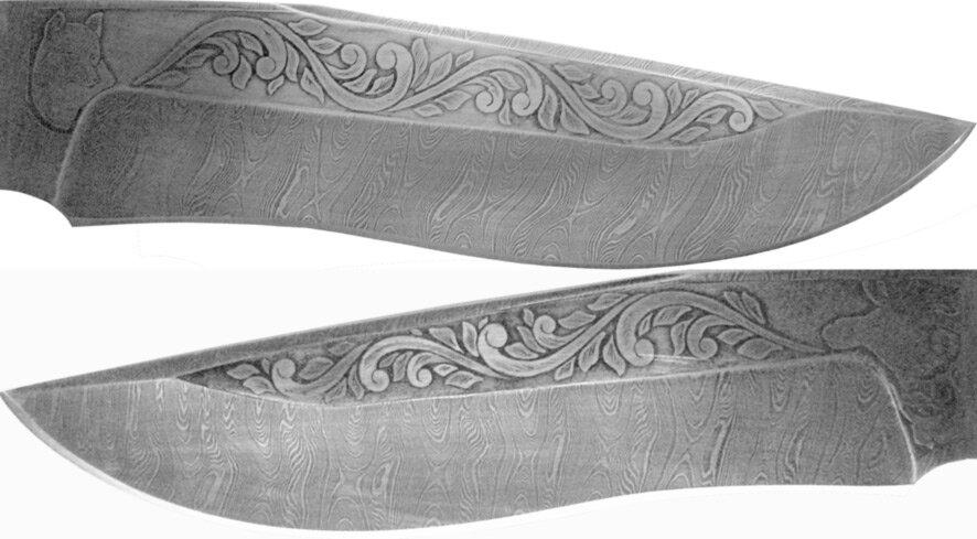 кабан, картинки узоров на ножах пуглив