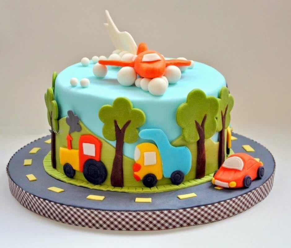 Картинки тортов на день рождения для мальчиков, рамки