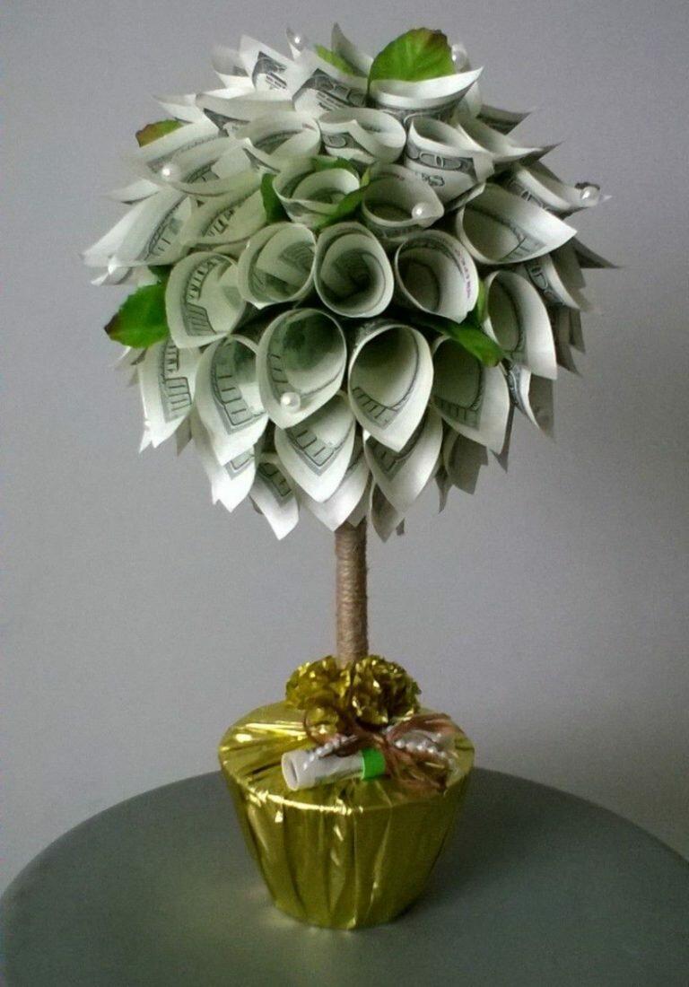 Конфетно денежное дерево своими руками картинки данном разделе