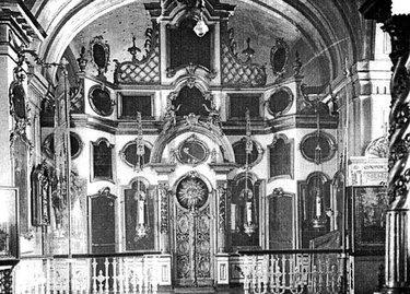 иконостас андереевского собора
