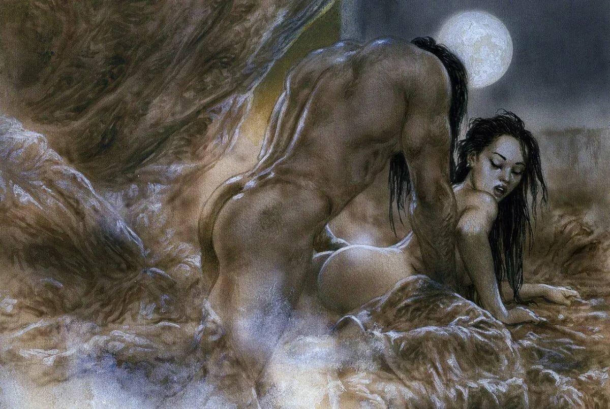 Black dominated erotic fantasy 13
