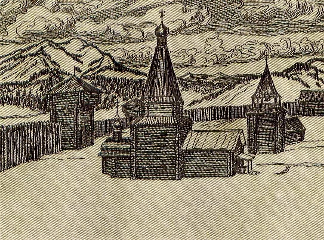 Сибирские остроги картинки