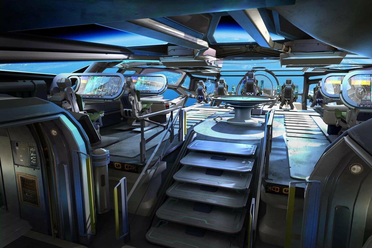 внутри инопланетного корабля картинки она была названа