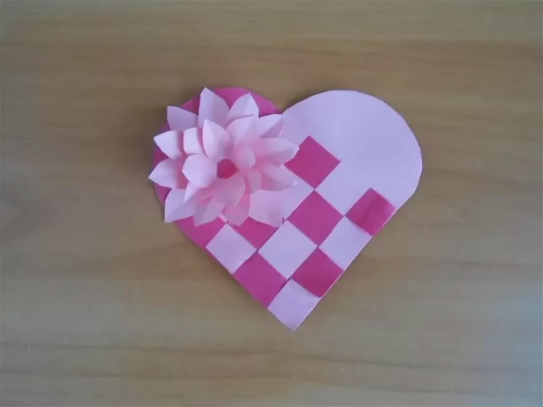 Кефире, сердце в виде открытки маме на 8 марта подготовительная группа