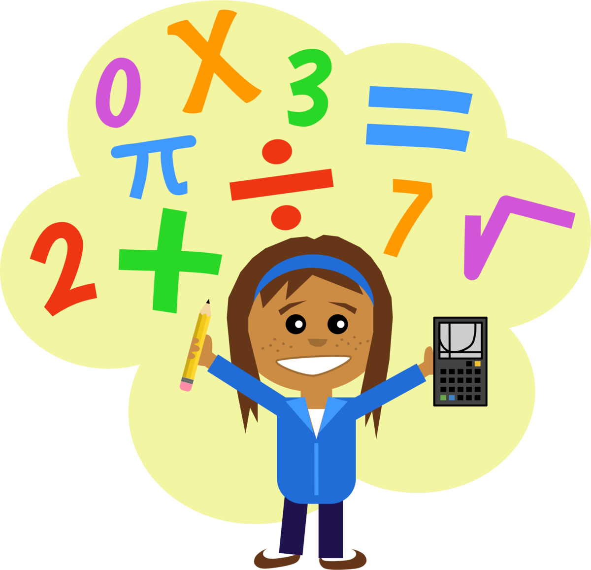 Урок математики картинка без фона