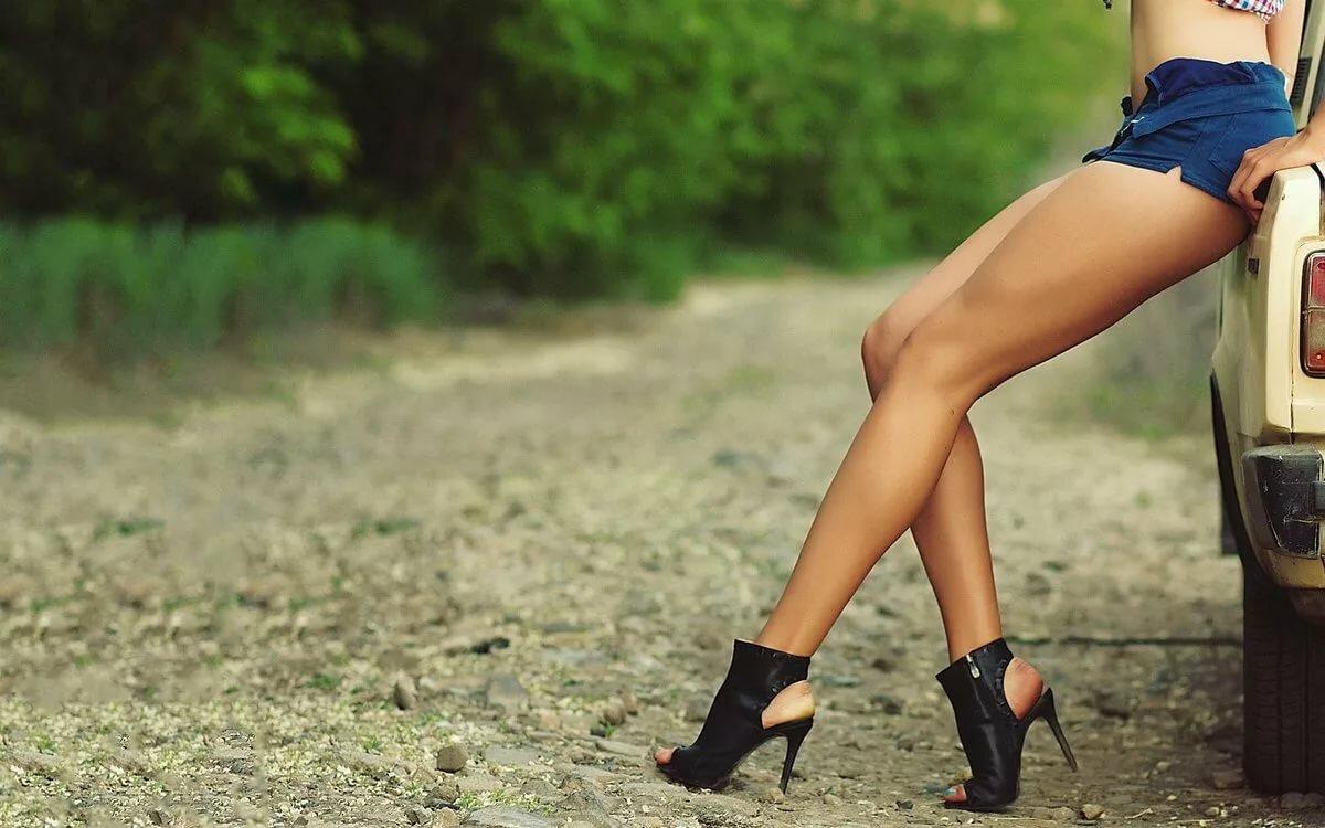 подборка женских ног