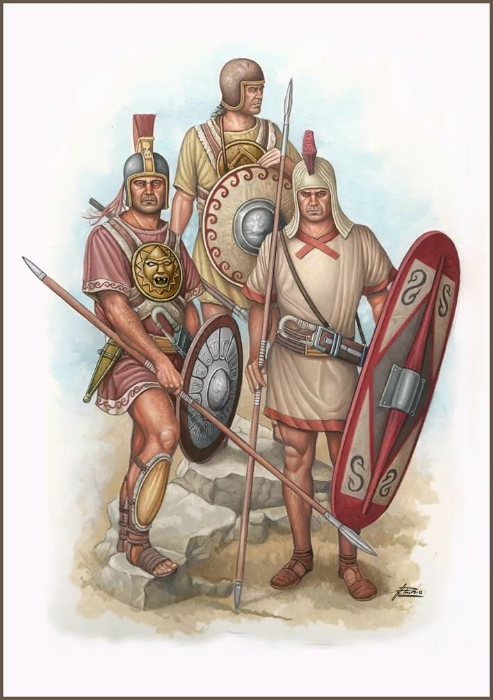 Карфагенский воин картинки