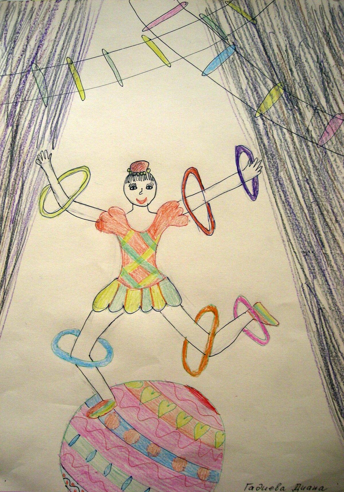 Картинки на тему детский цирк