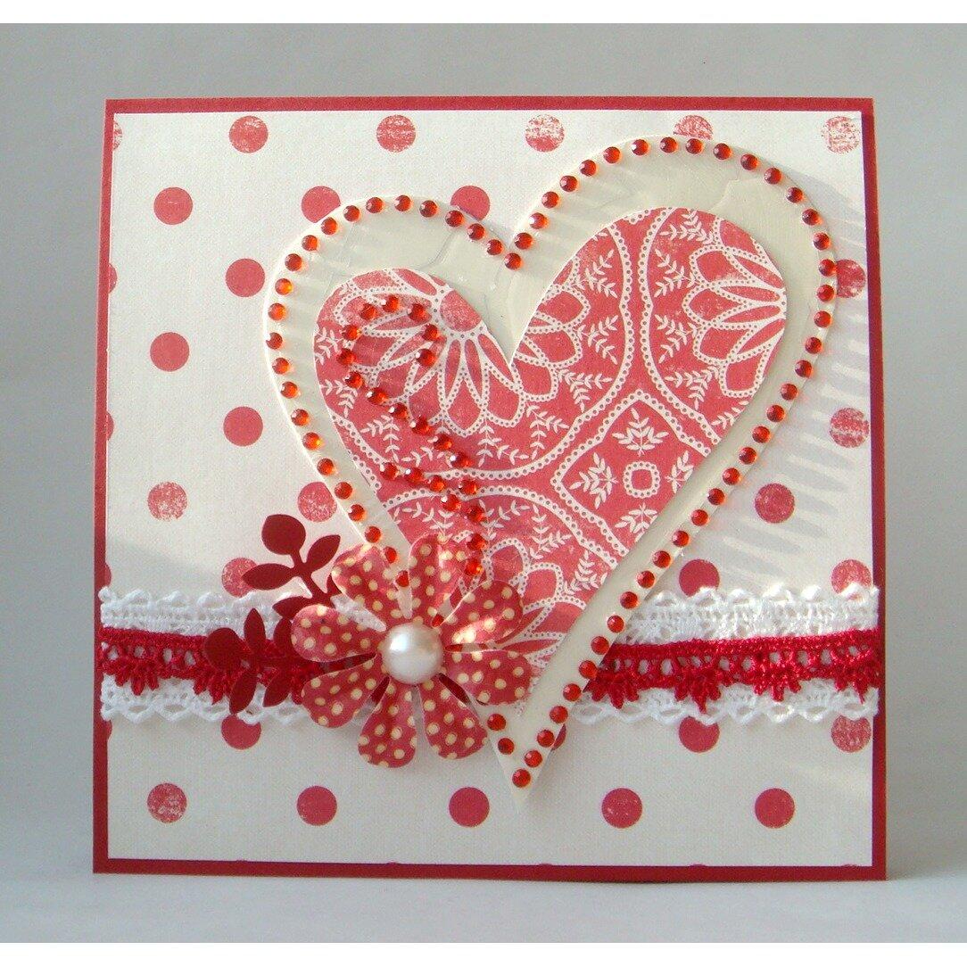 Сердце валентинка открытка своими руками