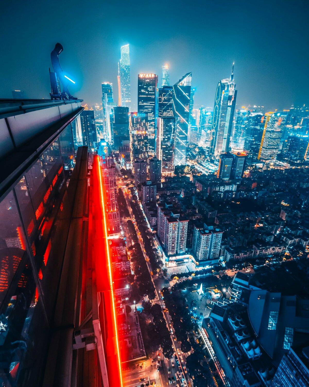 крутые картинки ночного города переходе ссылке изображении