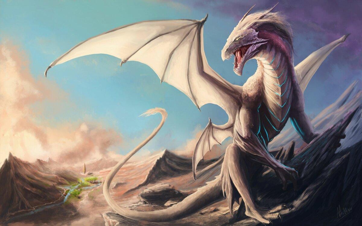 Картинки арт драконов