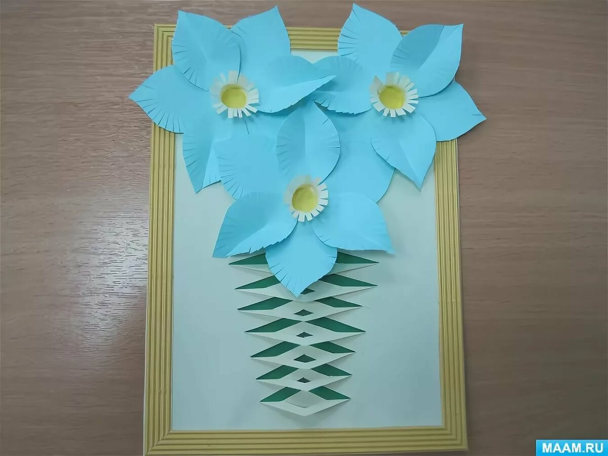 Объемные открытки своими руками с детьми к 8 марта