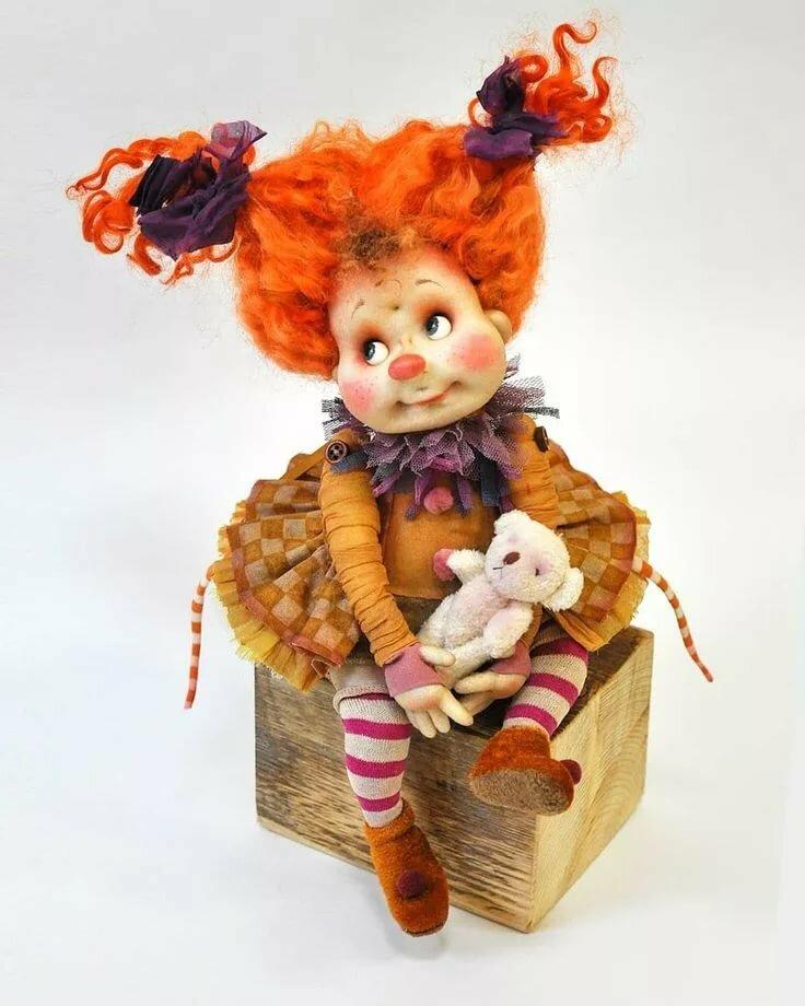 цитата авторские куклы клоуны фото пора года, когда